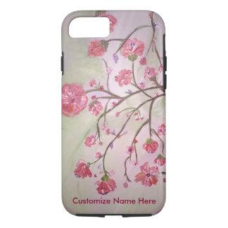 花の夜明け: 堅いiPhone 7の場合 iPhone 8/7ケース