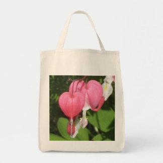 花の大げさに同情する人-食料雑貨のトートバック トートバッグ
