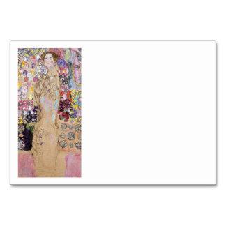 花の女性の勉強 カード