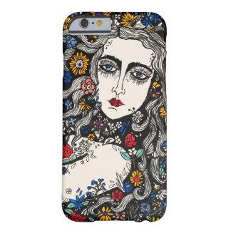 花の女性の電話箱 BARELY THERE iPhone 6 ケース