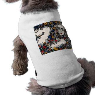 花の女性犬のコート ペット服