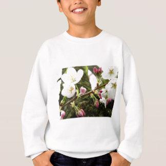 花の女性 スウェットシャツ