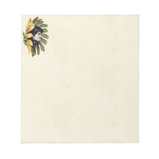 花の妖精のメモ帳 ノートパッド