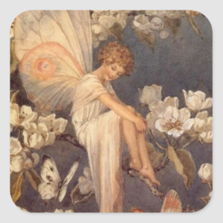 花の妖精 スクエアシール