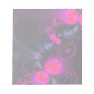 花の妖精-マゼンタのリボンは上がり、 ノートパッド