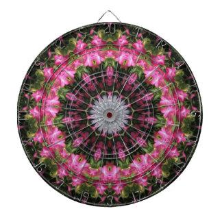 花の小束-投げ矢板 ダーツボード