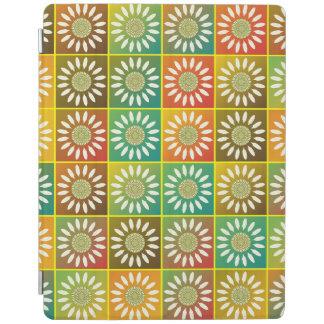 花の平面充填 iPadスマートカバー