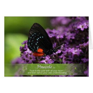 花の挨拶状 カード