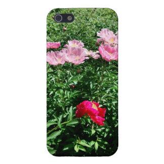 花の携帯電話の箱 iPhone 5 カバー