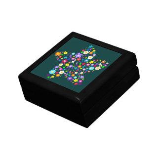 花の星のギフト用の箱 ギフトボックス