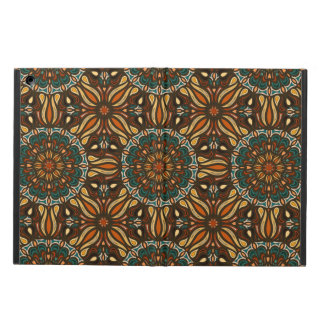 花の曼荼羅の抽象芸術パターンデザイン iPad AIRケース