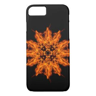 花の曼荼羅の火の芸術のiPhone 7の箱を始動させて下さい iPhone 8/7ケース
