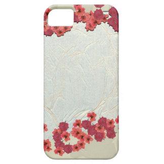花の格子垣 iPhone SE/5/5s ケース