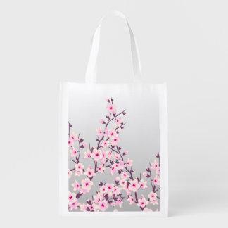 花の桜のエコバッグ エコバッグ