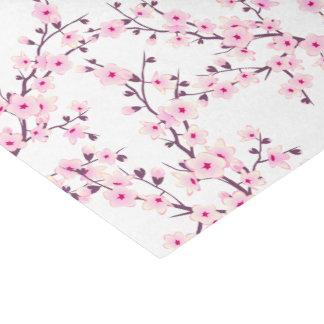 花の桜のピンクの白 薄葉紙