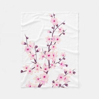 花の桜のフリース毛布 フリースブランケット