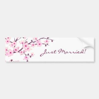 花の桜 バンパーステッカー
