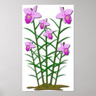 花の植物相のオフィスは運命の運命を個人化します ポスター