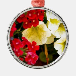 花の歓喜 メタルオーナメント