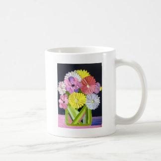 花の油絵#1 コーヒーマグカップ