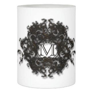 花の渦巻のモノグラムの炎より少ない蝋燭 LEDキャンドル