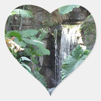 花の滝 ハートシール