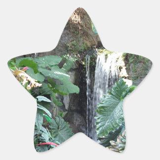 花の滝 星シール