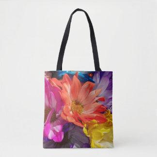 花の爆発 トートバッグ