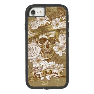 花の砂糖のスカルの堅いXtremeのiPhone 7の場合 Case-Mate Tough Extreme iPhone 8/7ケース