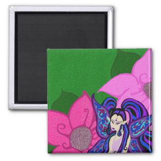 花の磁石の妖精 マグネット