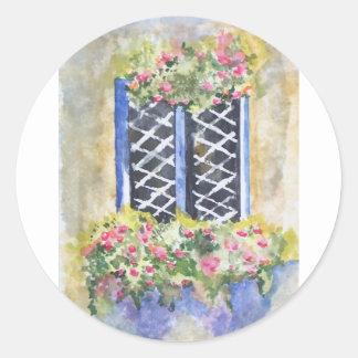 花の窓 ラウンドシール
