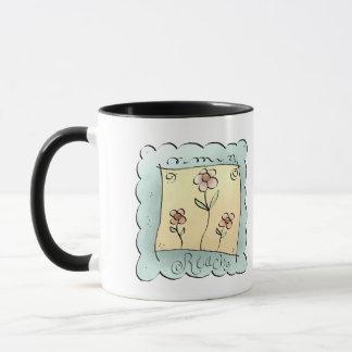 花の範囲 マグカップ