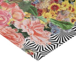 花の紙吹雪のオップアート 薄葉紙