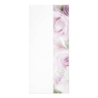 花の結婚式のバラの整理 ラックカード