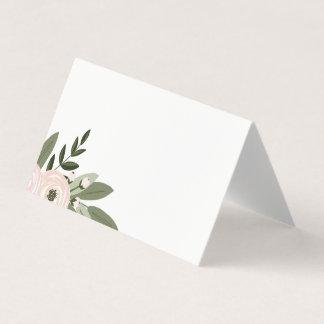 花の結婚式の小枝の座席表 プレイスカード