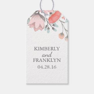花の結婚式 ギフトタグパック
