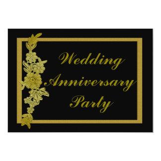花の結婚記念日 カード