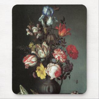 花の絵画のマウスパッド#2 マウスパッド