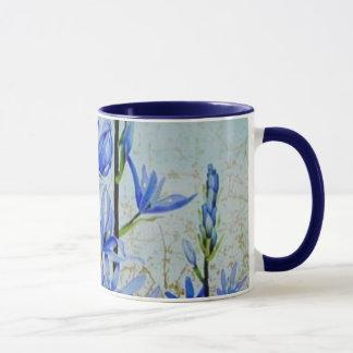 花の絵画のマグ34 マグカップ