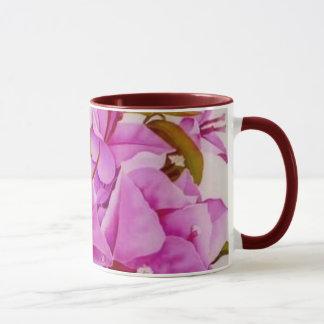 花の絵画のマグ36 マグカップ
