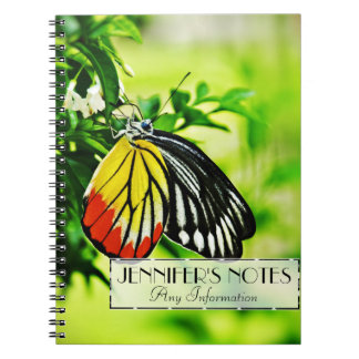 花の美しい蝶 ノートブック