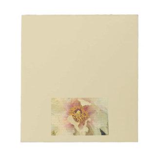 花の美しい ノートパッド