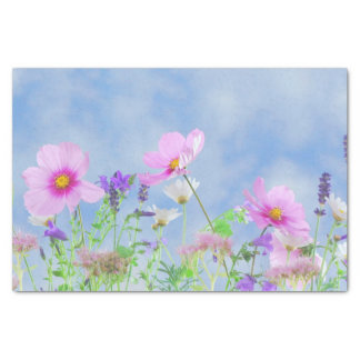 花の美しい 薄葉紙