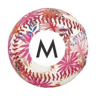 花の背景3 野球ボール
