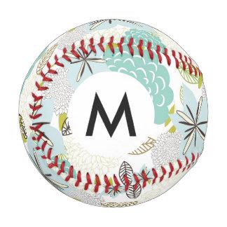 花の背景5 野球ボール