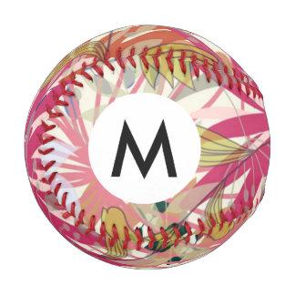 花の背景6 野球ボール