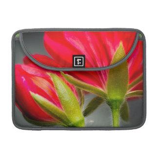 花の背部からのviningゼラニウムのクローズアップ MacBook proスリーブ