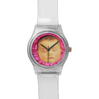 花の腕時計の睡眠のベビー 腕時計