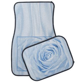 花の自然の写真の可憐な淡いブルーは上がりました カーマット