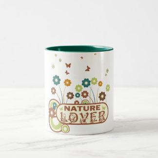 花の自然恋人 ツートーンマグカップ